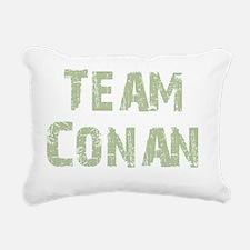 teamconangreen Rectangular Canvas Pillow