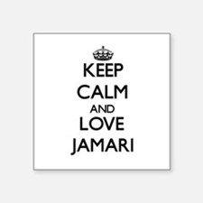 Keep Calm and Love Jamari Sticker