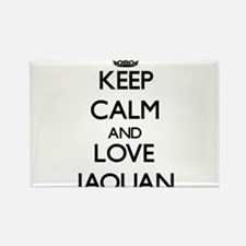 Keep Calm and Love Jaquan Magnets