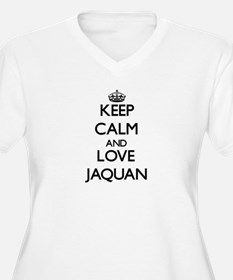 Keep Calm and Love Jaquan Plus Size T-Shirt
