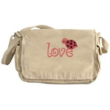 lovebug_dark Messenger Bag