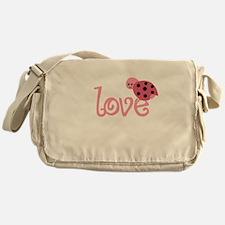 lovebug_dark Messenger Bag