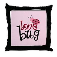 lovebug_icon Throw Pillow