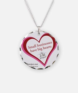 The 3/50 Project Valentine Necklace