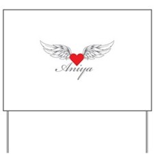 Angel Wings Aniya Yard Sign