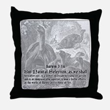 Darwin314 Throw Pillow