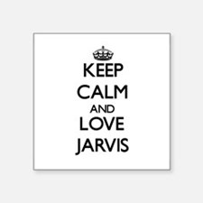 Keep Calm and Love Jarvis Sticker
