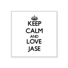 Keep Calm and Love Jase Sticker