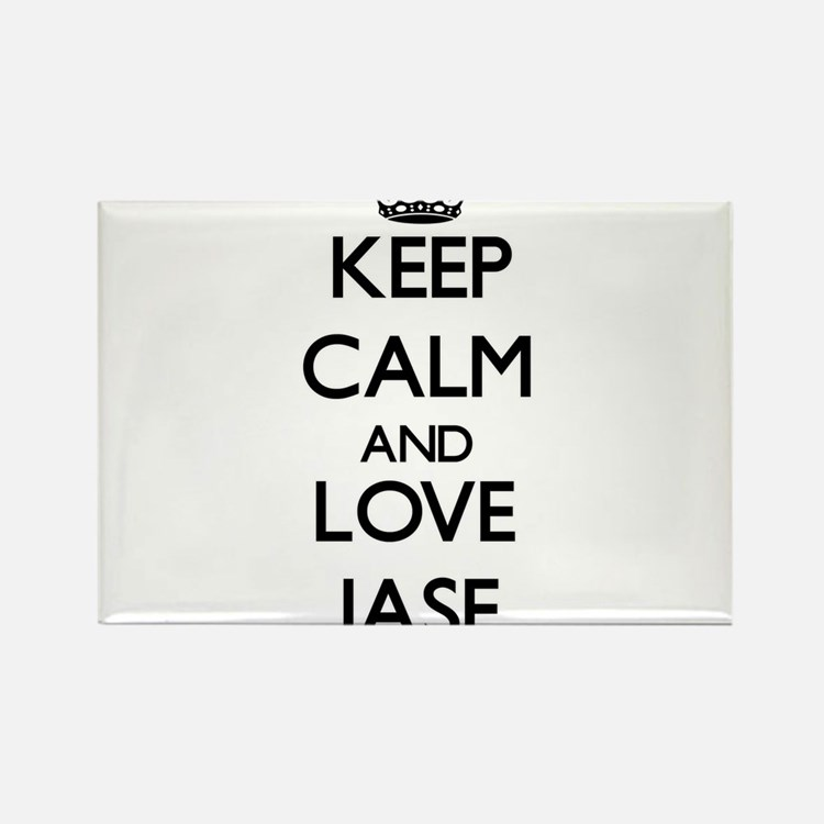 Keep Calm and Love Jase Magnets