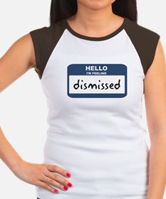 Feeling dismissed Women's Cap Sleeve T-Shirt