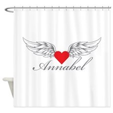 Angel Wings Annabel Shower Curtain