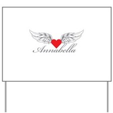 Angel Wings Annabella Yard Sign