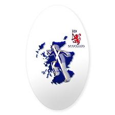 Scotland Sprinter Running Decal