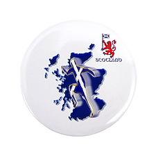 Scotland Sprinter Running 3.5&Quot; Button