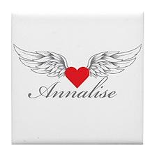 Angel Wings Annalise Tile Coaster