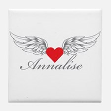 Angel Wings Annalise Tile Coaster