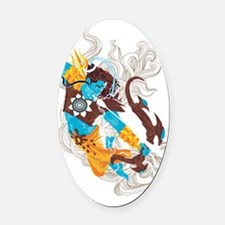 Lord Rudra Oval Car Magnet