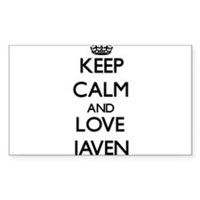 Keep Calm and Love Javen Decal