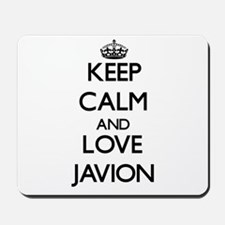 Keep Calm and Love Javion Mousepad