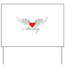 Angel Wings Ansley Yard Sign