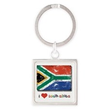 fifa_flag_only_design4 Square Keychain