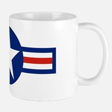 retro us airforce star Mug
