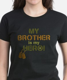 Dog Tag Hero Brother Tee