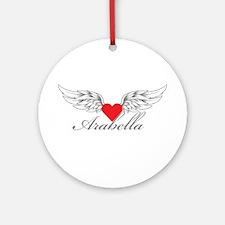 Angel Wings Arabella Ornament (Round)