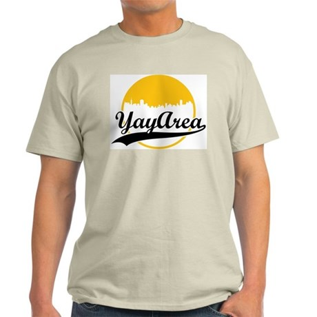 Yay Area Ash Grey T-Shirt