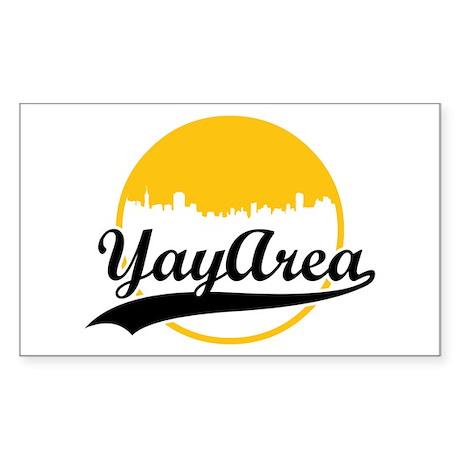 Yay Area Rectangle Sticker