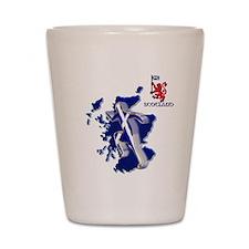 Scotland sprinter running Shot Glass