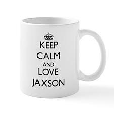 Keep Calm and Love Jaxson Mugs