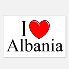 """""""I Love Albania"""" Postcards (Package of 8)"""