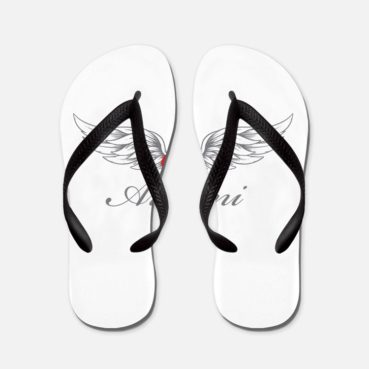 Angel Wings Armani Flip Flops