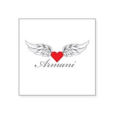 Angel Wings Armani Sticker