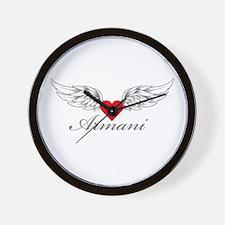 Angel Wings Armani Wall Clock
