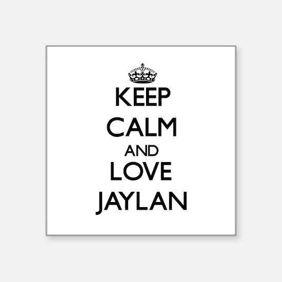 Keep Calm and Love Jaylan Sticker