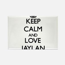 Keep Calm and Love Jaylan Magnets