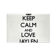 Keep Calm and Love Jaylen Magnets
