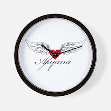 Angel Wings Aryana Wall Clock