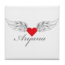 Angel Wings Aryana Tile Coaster
