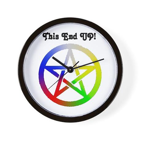 Elemental Pagan Pride Wall Clock