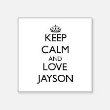 Keep Calm and Love Jayson Sticker