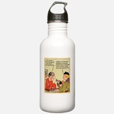 10x10_apparel_dark Water Bottle