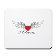 Angel Wings Athena Mousepad