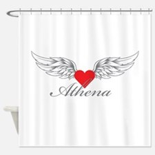 Angel Wings Athena Shower Curtain
