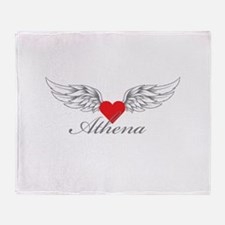 Angel Wings Athena Throw Blanket