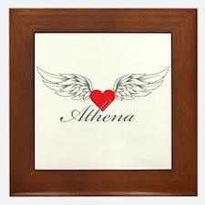 Angel Wings Athena Framed Tile
