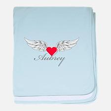 Angel Wings Aubrey baby blanket