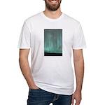 Aurora Meditation Fitted T-Shirt